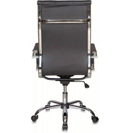 Кресло руководителя Бюрократ CH-991/BLACK черный искусственная кожа крестовина хром