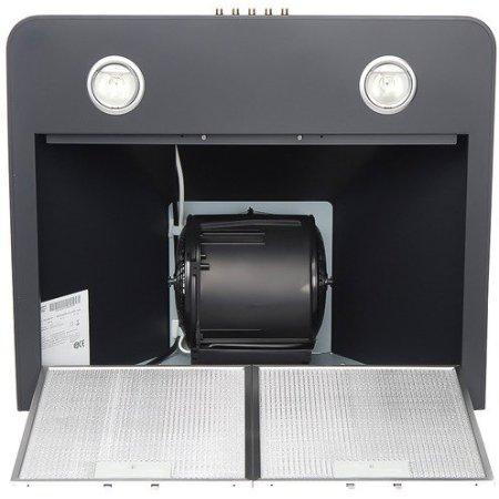 Hotpoint-Ariston HRP 6.5 CM AN/HA 60см, черный, 760куб.м/ч