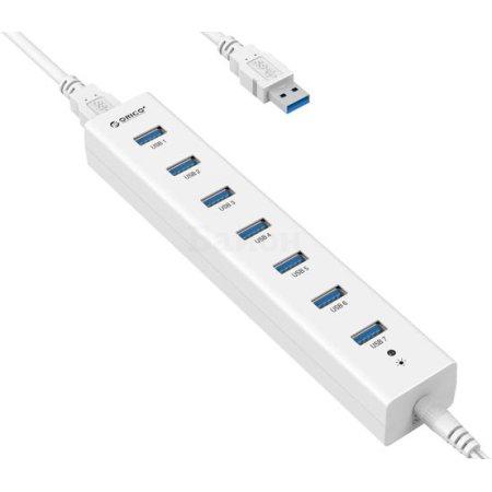 USB хаб Orico H7013-U3 White