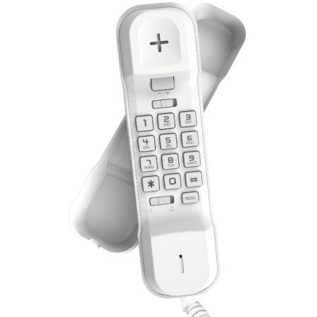 Проводной телефон Alcatel T06 black Белый