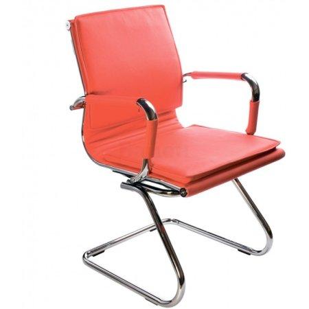 Кресло Бюрократ CH-993-Low-V/Black Красный