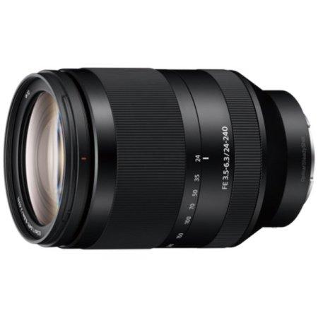 Sony SEL24240 FE 24-240 мм F3.5-6.3 OSS Универсальный, Sony E, Совместимость с полнокадровыми фотоаппаратами