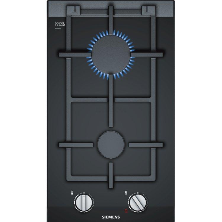 Siemens ER3A6BD70 Черный, Газовая, Стеклокерамика