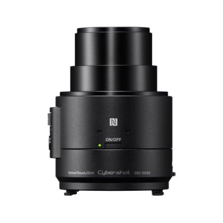 Sony Cyber-shot DSC-QX30 Черный, 20.4