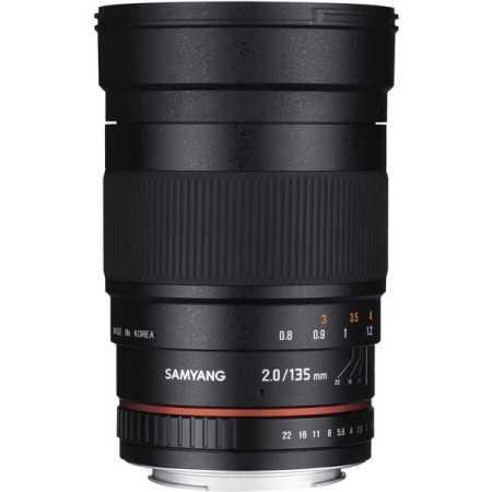 Samyang 50mm f/1.2 AS UMC CS Fujifilm X Телеобъектив, Canon EF, Совместимость с полнокадровыми фотоаппаратами