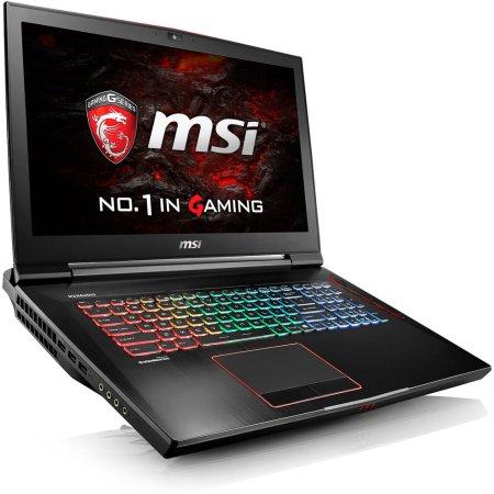 "MSI GT73VR Titan SLI 4K 6RE-059RU 17.3"", Intel Core i7, 2700МГц, 32Гб RAM, DVD нет, 1.5Тб, Черный, Wi-Fi, Windows 10, Bluetooth"
