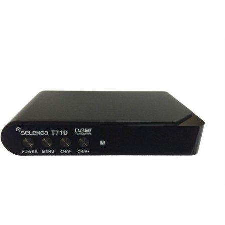 Ресивер DVB-T2 Selenga T71D