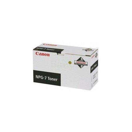 Canon NPG-7 Черный, Тонер-картридж, Стандартная, нет