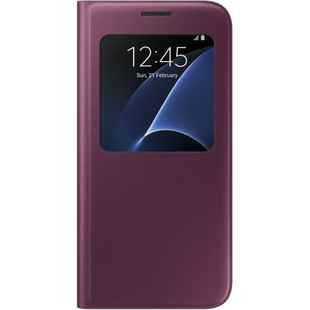 Samsung S View Cover для Samsung Galaxy S7 чехол-книжка, Бордо