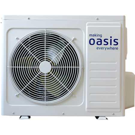Oasis CL-18 Белый, Настенный, 52м²