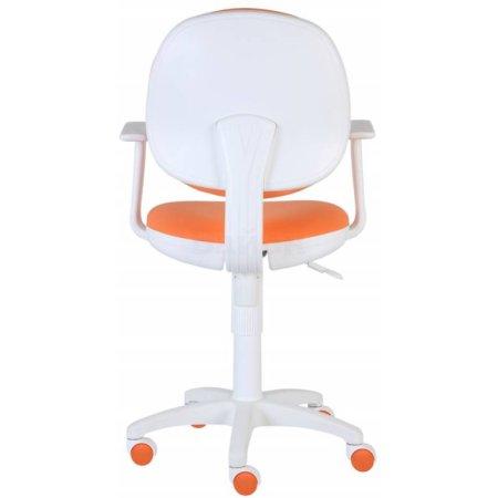 Кресло Бюрократ CH-W356AXSN/15-75 оранжевый 15-75 (пластик белый)