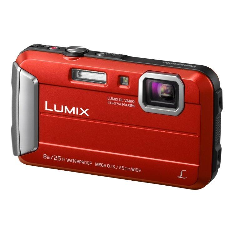 Panasonic Lumix DMC-FT30 Красный, 16.6