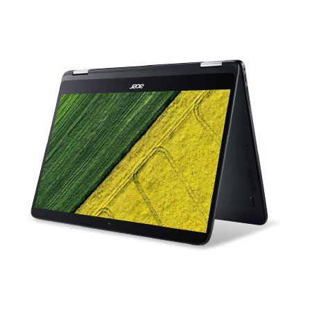 "Acer Spin 7 14"", Intel Core i7, 1300МГц, 8Гб RAM, DVD нет, 256Гб, Черный, Wi-Fi, Windows 10 Домашняя, Bluetooth"
