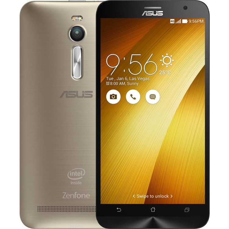 Asus ZenFone 2 ZE551ML, 4 Гб, 32 Гб, 2 SIM, 4G LTE