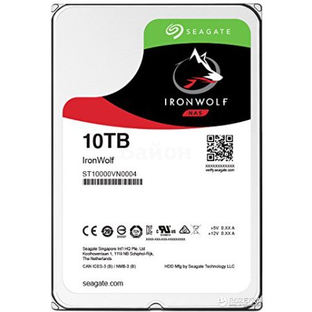 "Seagate ST10000VN0004 10000Гб, 600, 3.5"" HDD"