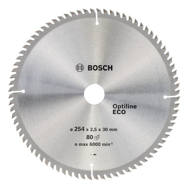 Пильный диск по дереву Bosch 2608641796 d=254мм d(посад.)=30мм (циркулярные пилы) от Байон