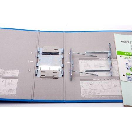 Папка-регистратор Kokuyo TUBE FU-F660 NM A4 пластиковая корешок 60мм серый