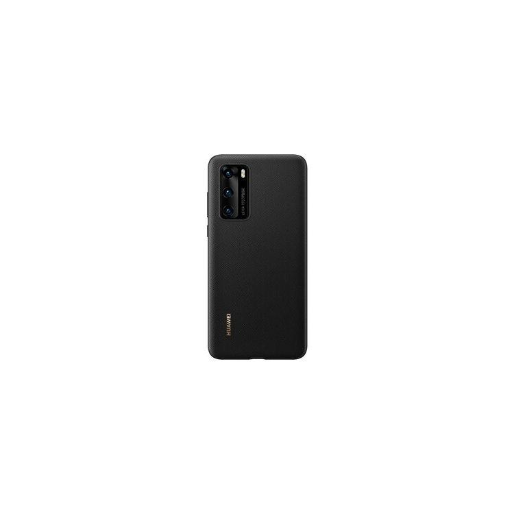 Чехол для Huawei P40 Silicone Black