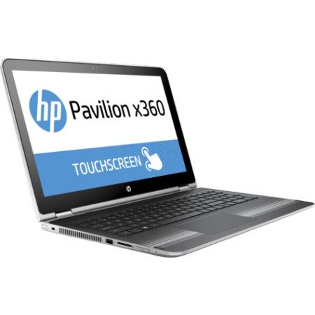 """HP Pavilion 15x360 15.6"""", Intel Pentium, 2100МГц, 4Гб RAM, 500Гб, Серебристый, Wi-Fi, Windows 10, Bluetooth"""
