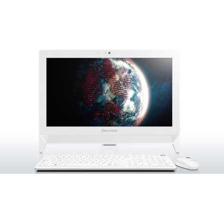 Lenovo C20-00 нет, Белый, 4Гб, 500Гб, Windows, Intel Celeron