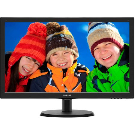 "Philips 223V5LSB/00 21,5"" Черный, VGA, , Full HD DVI"