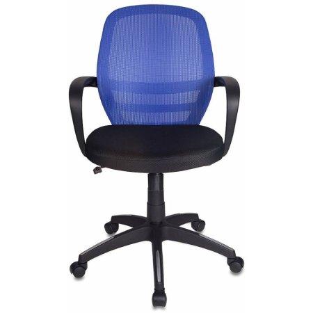 Кресло Бюрократ CH-499/Z2/TW-11 спинка сетка синий Z2 сиденье черный TW-11