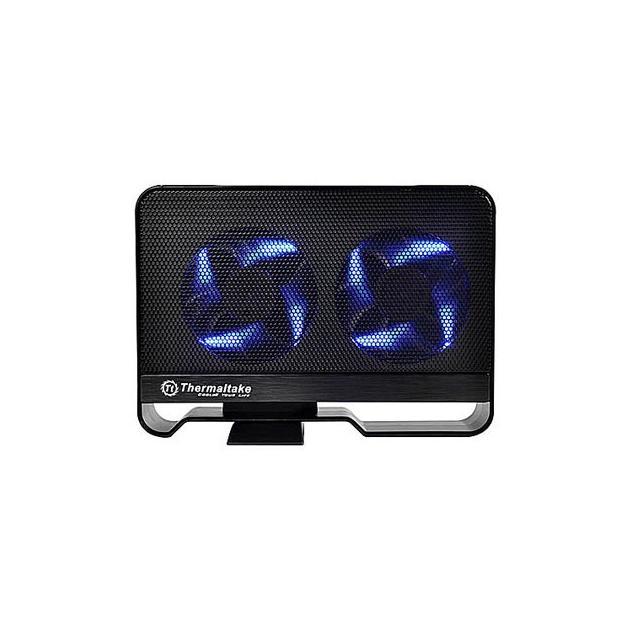 "Внешний корпус для HDD Thermaltake Max5 ST0021 SATA III пластик черный 3.5"""
