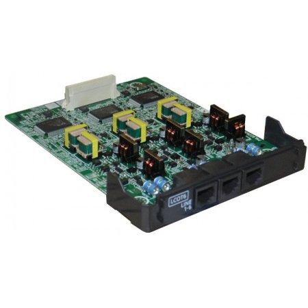 6-портовая плата аналоговых внешних линий (LCOT6)