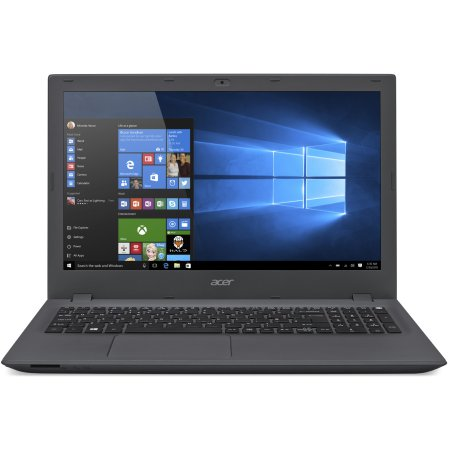 "Acer Aspire E5-573-C7XF 15.6"", 1400МГц, 4Гб RAM, 500Гб, Темно-серый, Wi-Fi, Windows 10, Bluetooth, Intel Celeron"
