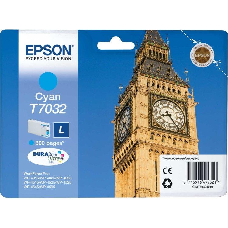 Epson C13T70324010, Картридж струйный, Стандартная, нет