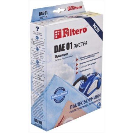 Пылесборники Filtero DAE 01 Экстра пятислойные (4пылесбор.)