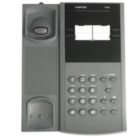 Mitel Aastra 7106a Проводной телефон, Серый, 1 трубка