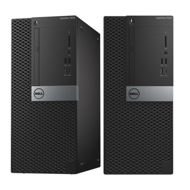 Dell Optiplex 7050 MT Intel Core i7, 3600МГц, 8Гб RAM, 256Гб, Win 10 Pro