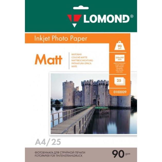 Lomond 0102029 A4/90г/м2/25л.