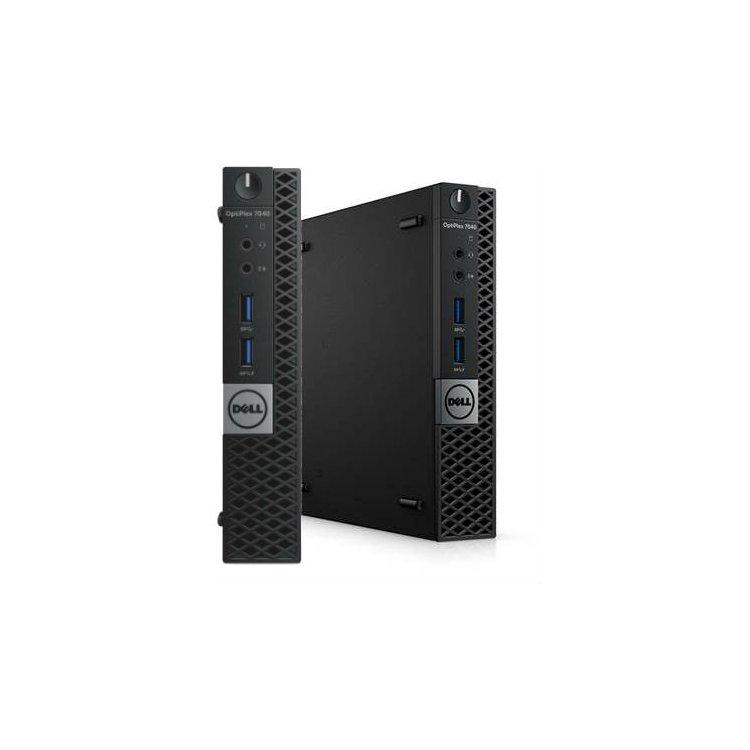 Dell Optiplex 7040-0132 Micro, 2800МГц, 8Гб, Intel Core i7, 500Гб