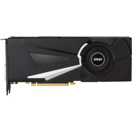MSI NVIDIA GeForce GTX 1070 AERO 8G 1531MHz, PCI-Ex16 3.0, 8pin x 1