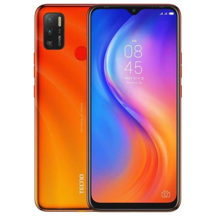 Tecno Spark 5 Air Spark Orange