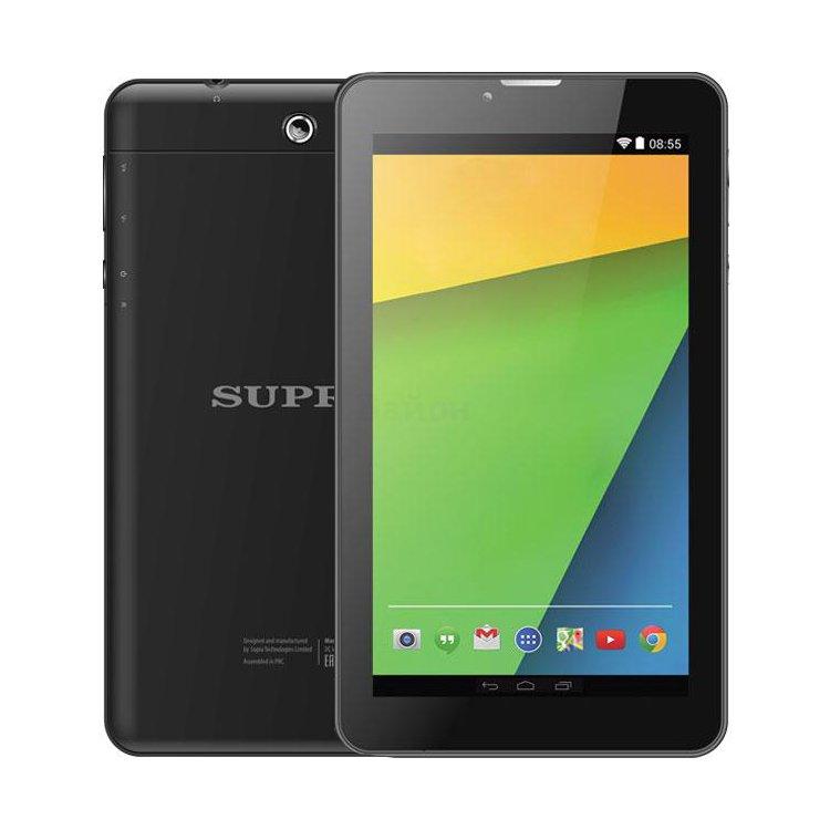 Supra M72EG Wi-Fi и 3G, Черный, Wi-Fi, 16Гб