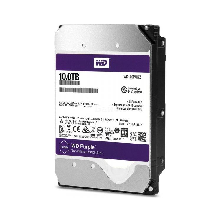 Купить Western Digital WD40PURX в интернет магазине бытовой техники и электроники