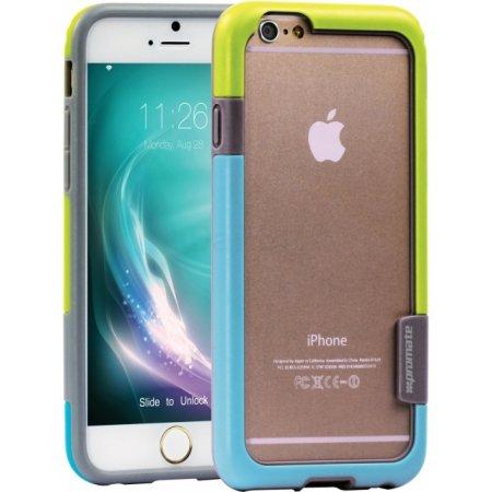 Накладка для iPhone 6 Plus Promate Fendy-i6 чехол-бампер, Зеленый