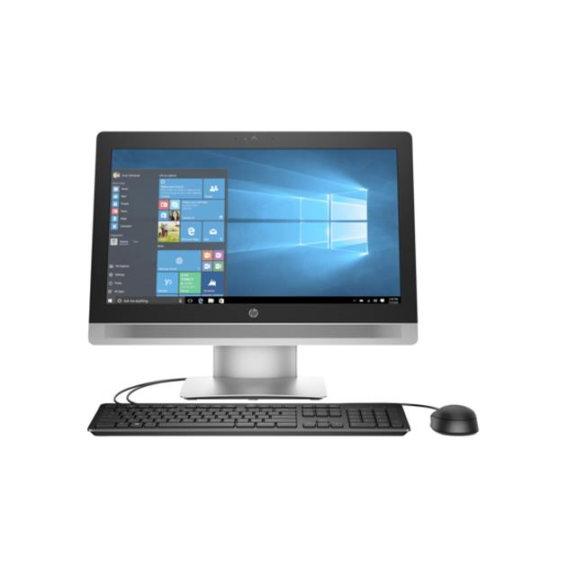 HP ProOne 600 G2 P1G99EA Серебристый, 8Гб, 1000Гб, Intel Core i5, Win10Pro+Win7Pro