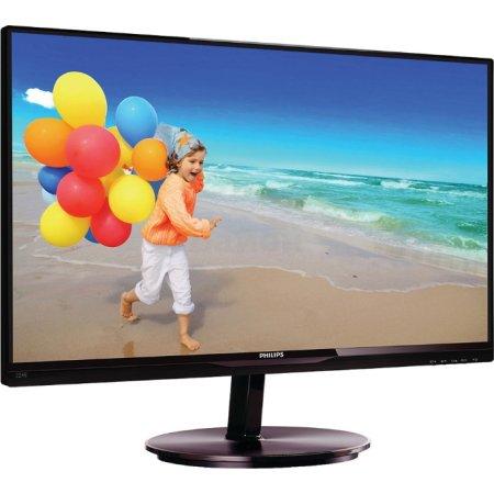 "Philips 224E5QHSB/01 21.5"", Черный, HDMI, Full HD"