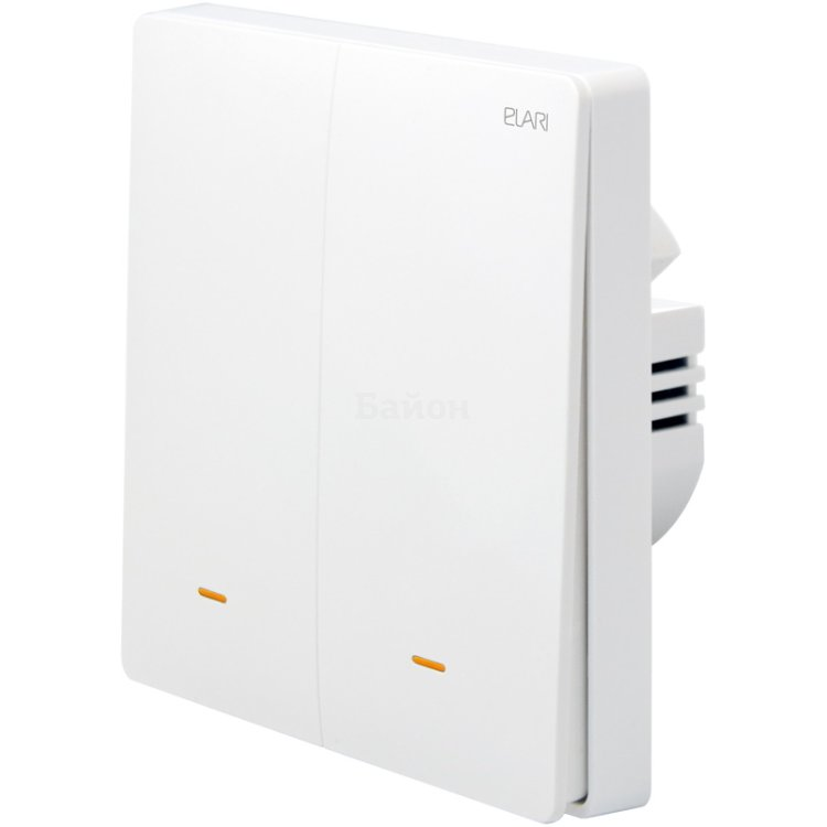 Умный кнопочный переключатель Elari Smart Switch Double