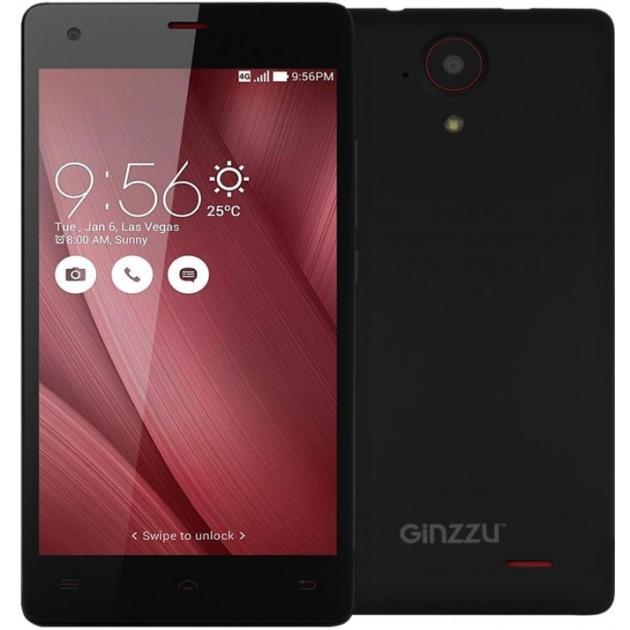 Ginzzu S5020 Черный, 4G (LTE), 3G