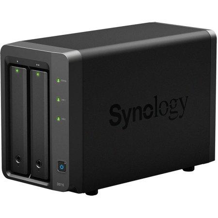 Synology DS715 Черный Черный
