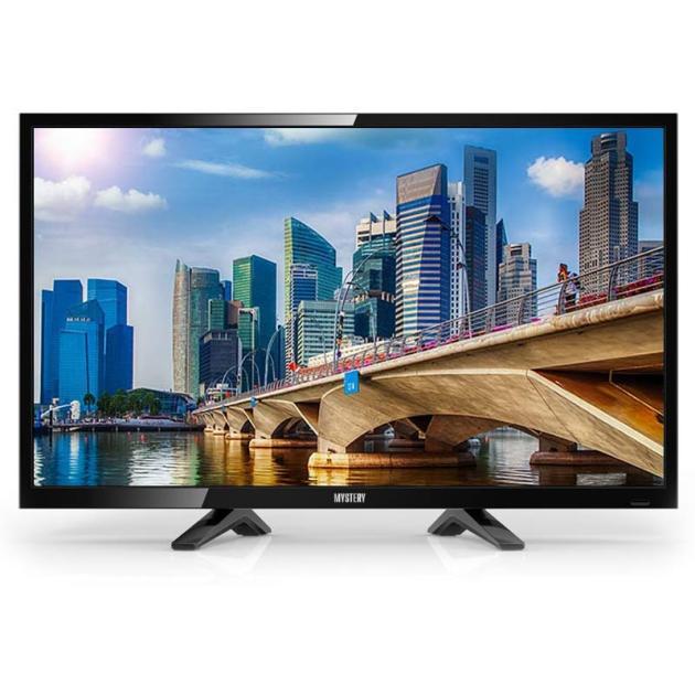 """Mystery MTV-2424LT2 28"""", Черный, 1366x768, без Wi-Fi, 720p HD, ЖК (LCD), 250кд/м2"""