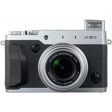 Fujifilm X30 Стальной, 12