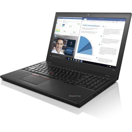 "Lenovo ThinkPad T560 20FJ002TRT 15.6"", Intel Core i7, 2600МГц, 16Гб RAM, DVD нет, 256Гб, Черный, Wi-Fi, Windows 10 Pro, Bluetooth"