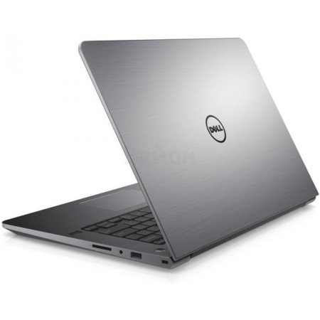 "Dell Vostro 5468-2815 14"", Intel Core i5, 2500МГц, 4Гб RAM, DVD нет, 500Гб, Серый, Wi-Fi, Windows 10 Домашняя, Bluetooth"
