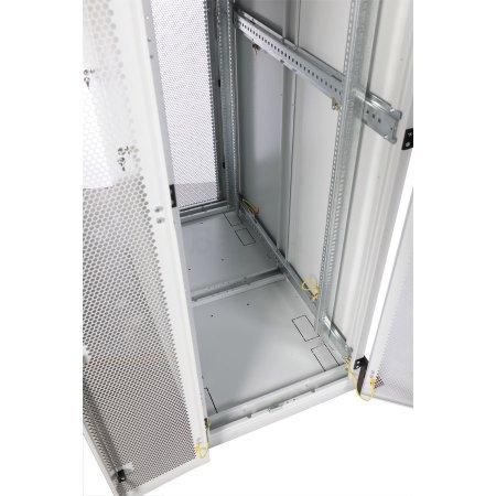 ЦМО Шкаф серверный напольный 33U (600x1000) дверь перфорированная 2 шт., [ШТК-С-33.6.10-44АА]
